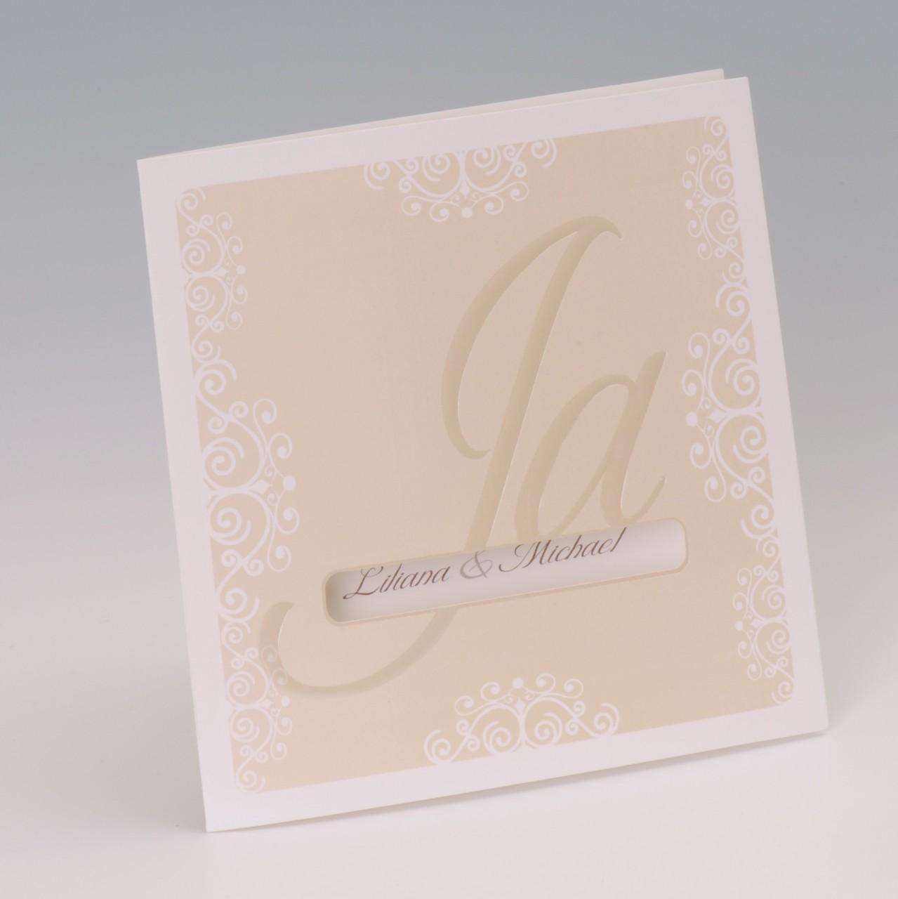 Einladungskarte - H 1989