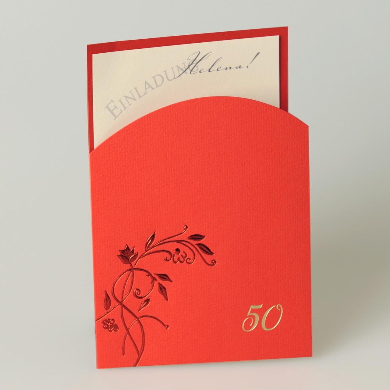 Einladungskarte - A 2014