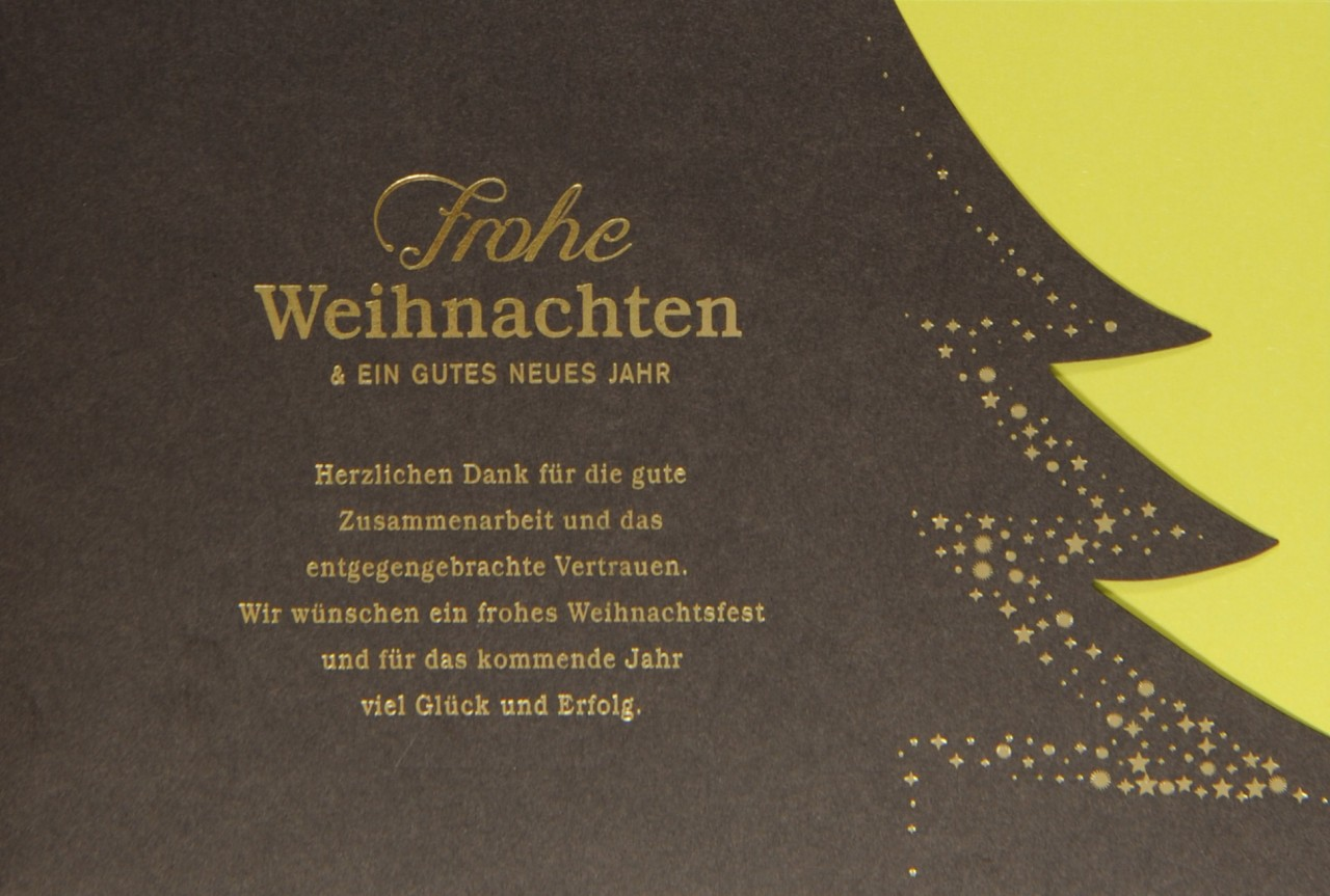 Weihnachtskarte - FW 17924
