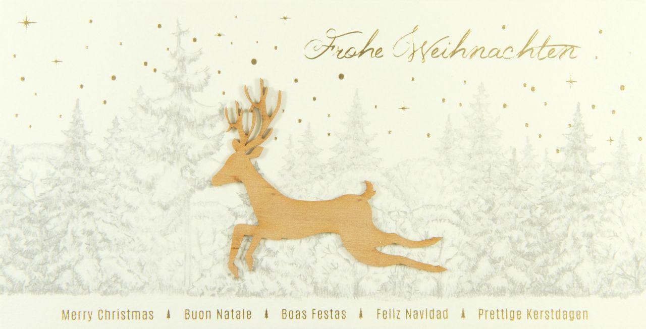 Weihnachtskarte - FW 18135