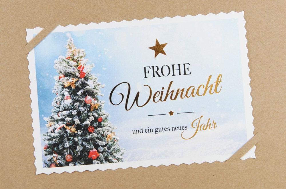 Weihnachtskarte - FW 18081