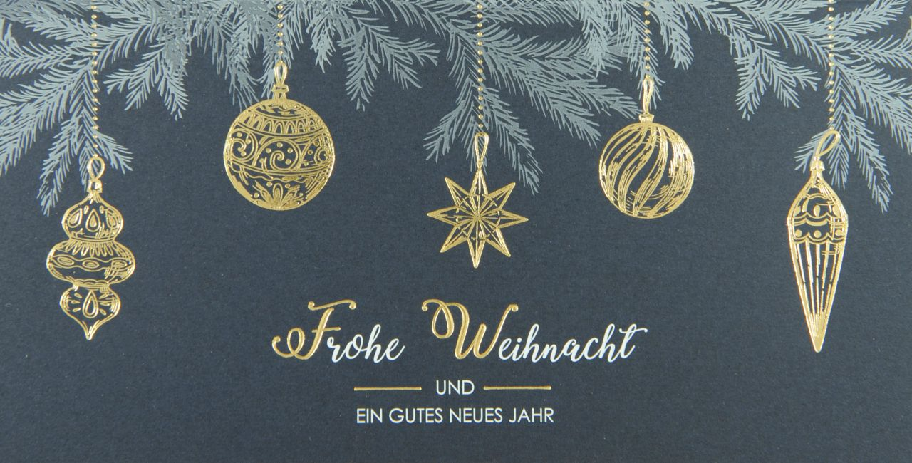 Weihnachtskarte - FW 18140