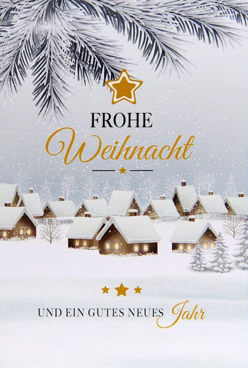 Weihnachtskarte - FW 18024