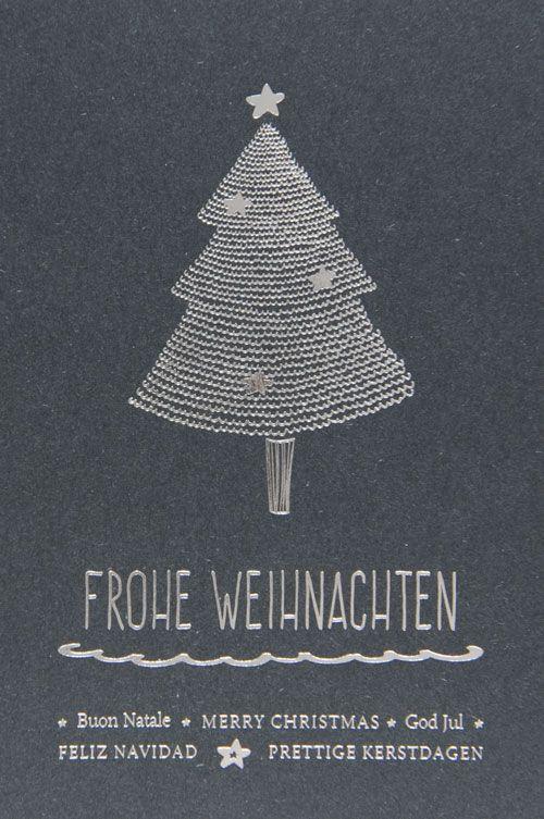 Weihnachtskarte - FW 18027