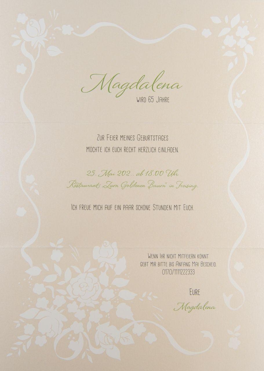 Einladungskarte- A 2166