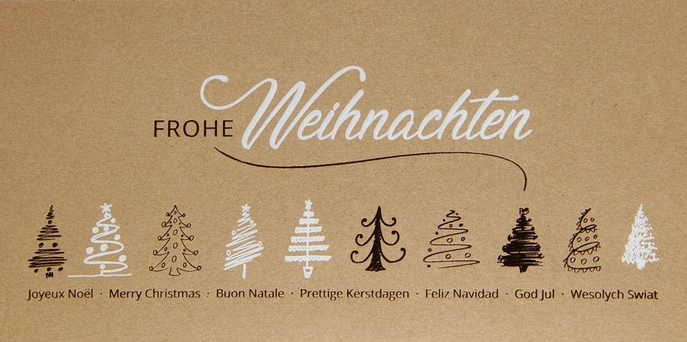 Weihnachtskarte - FW 18085