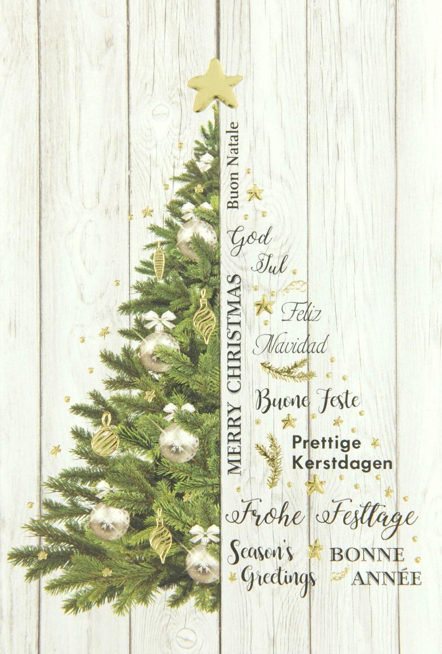 Weihnachtskarte - FW 18156