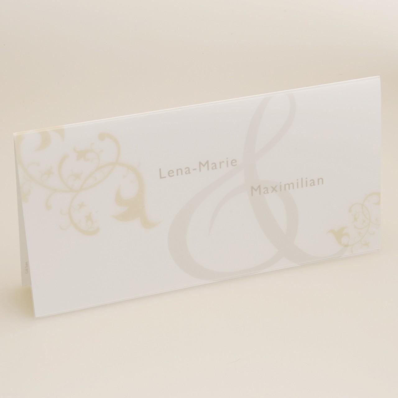Einladungskarte - H 1816