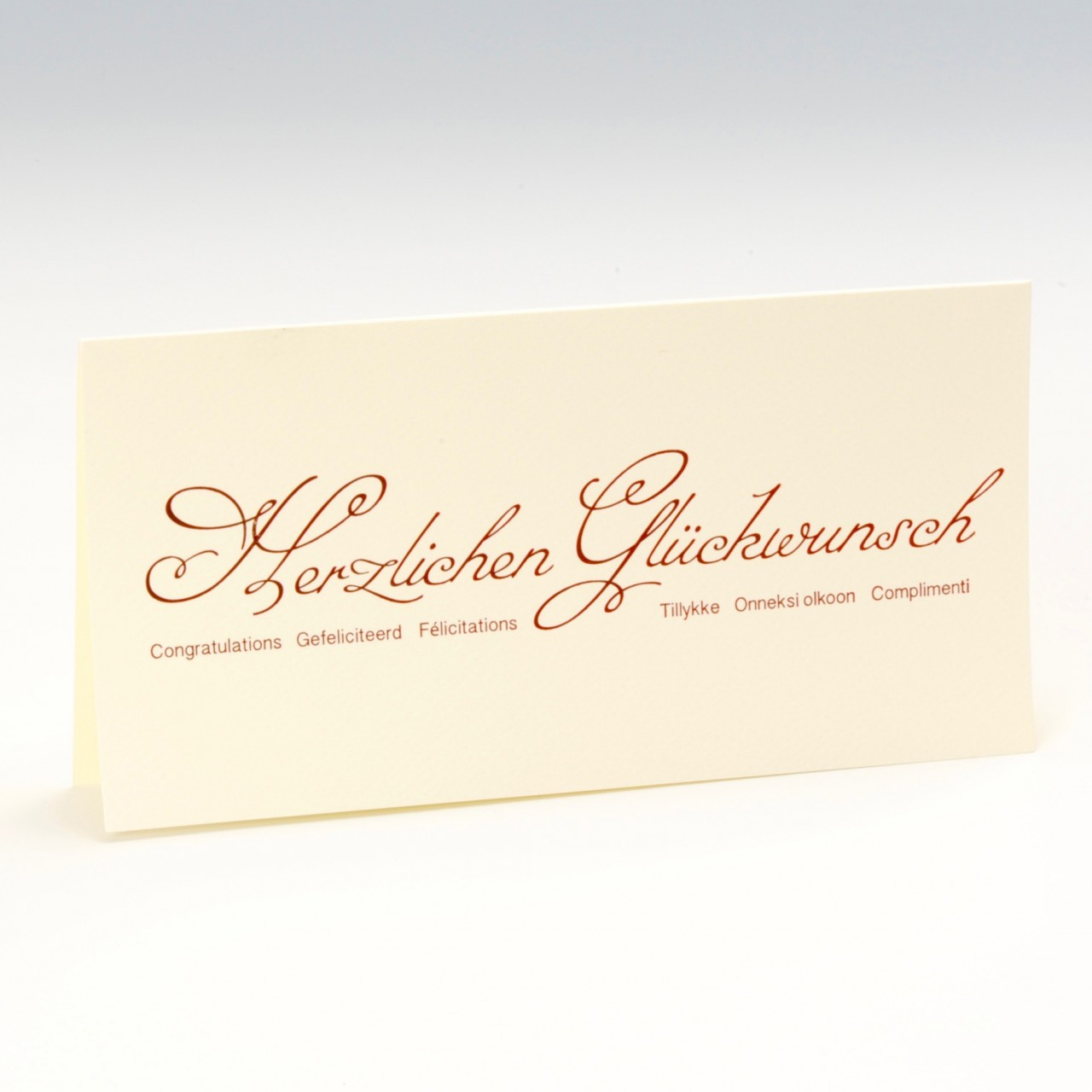 Glückwunschkarte - A 2116