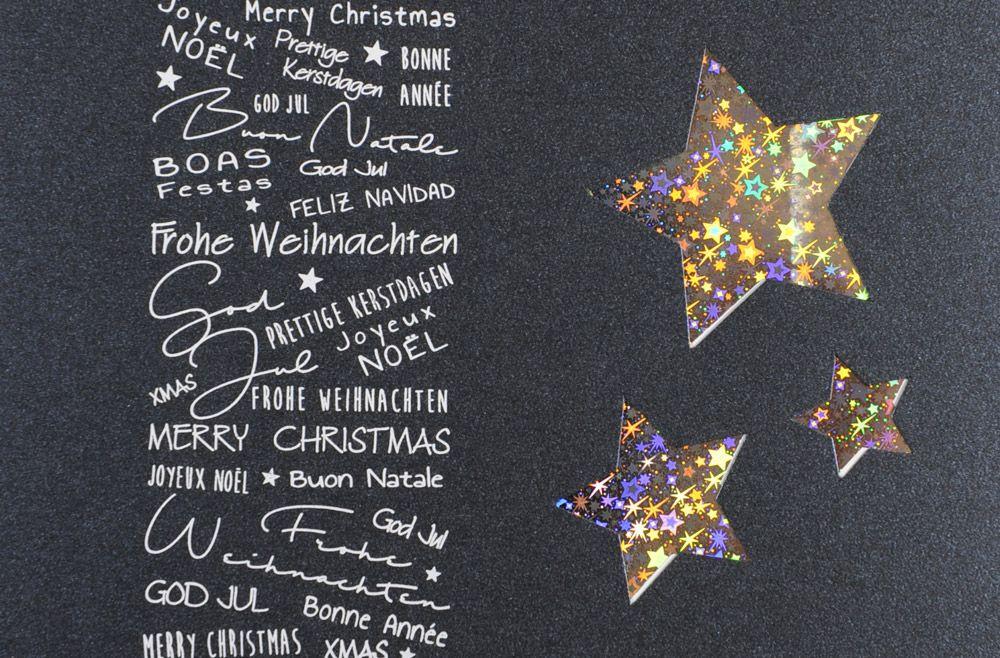 Weihnachtskarte - FW 18108