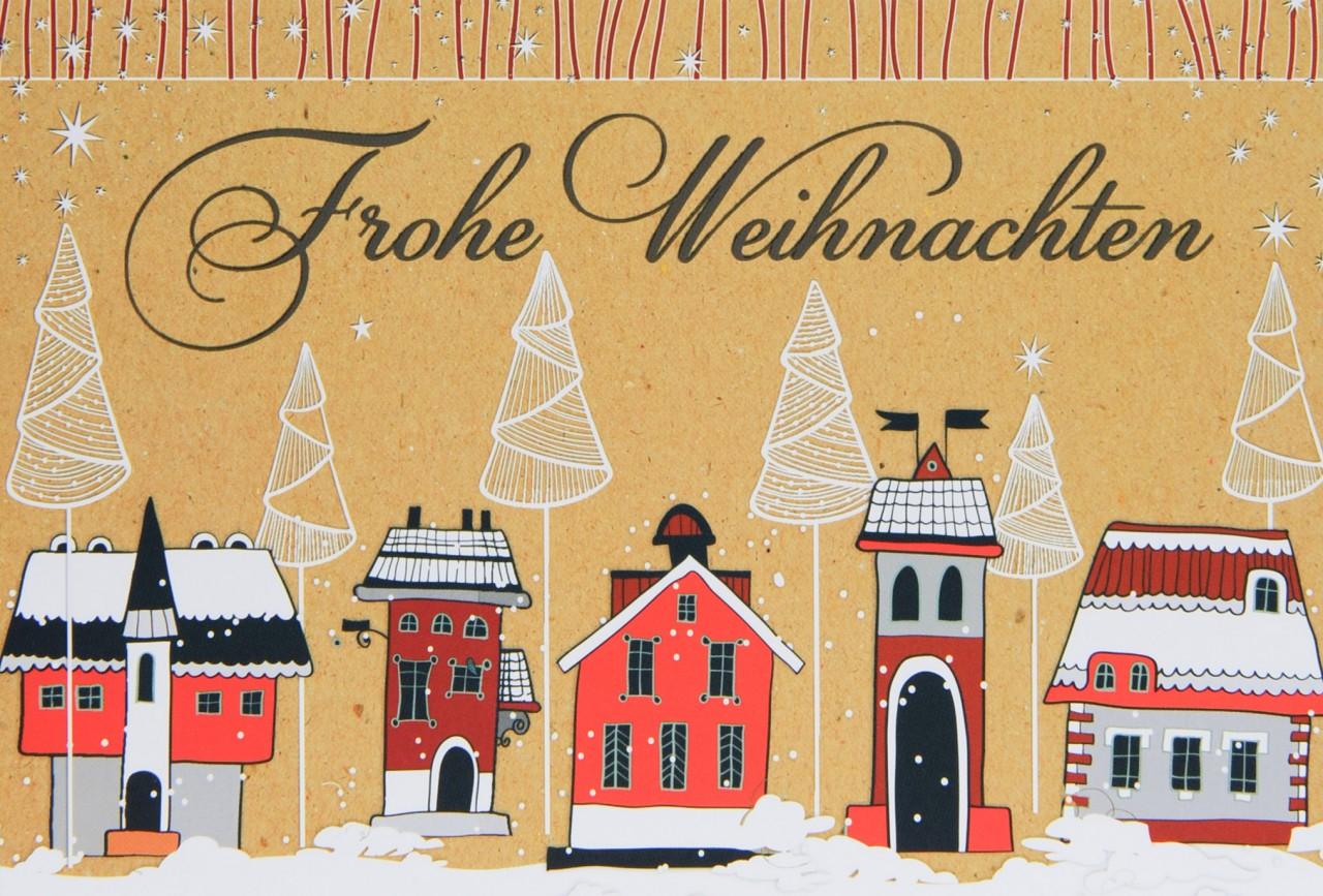 Weihnachtskarte - FW 14741