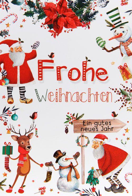 Weihnachtskarte - FW 13802