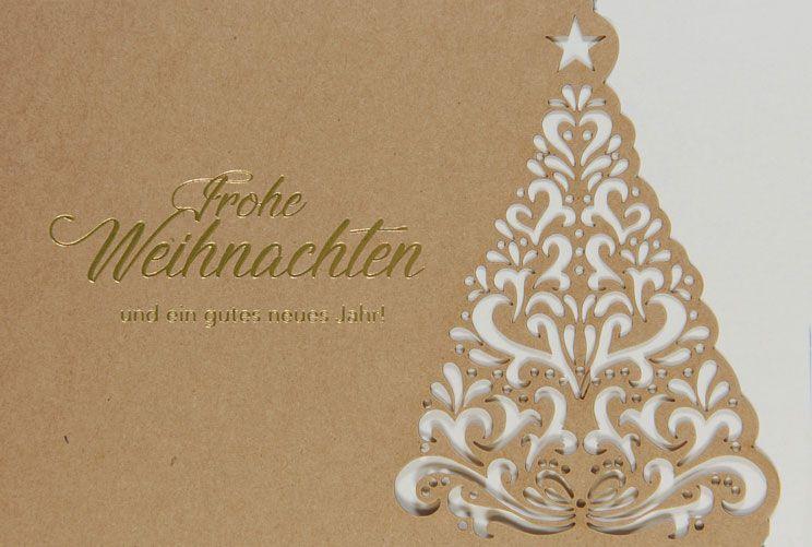 Weihnachtskarte - FW 18018