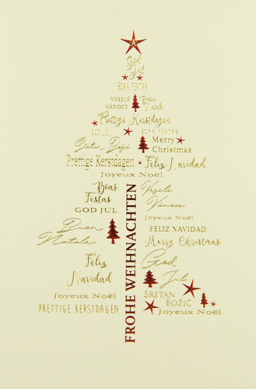 Weihnachtskarte - FW 18186