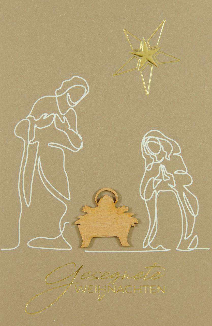 Weihnachtskarte - FW 18190