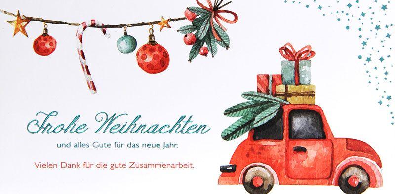 Weihnachtskarte - FW 18020