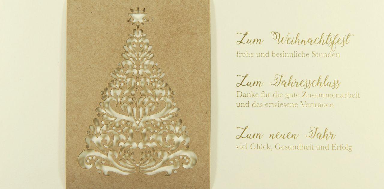 Weihnachtskarte - FW 18154