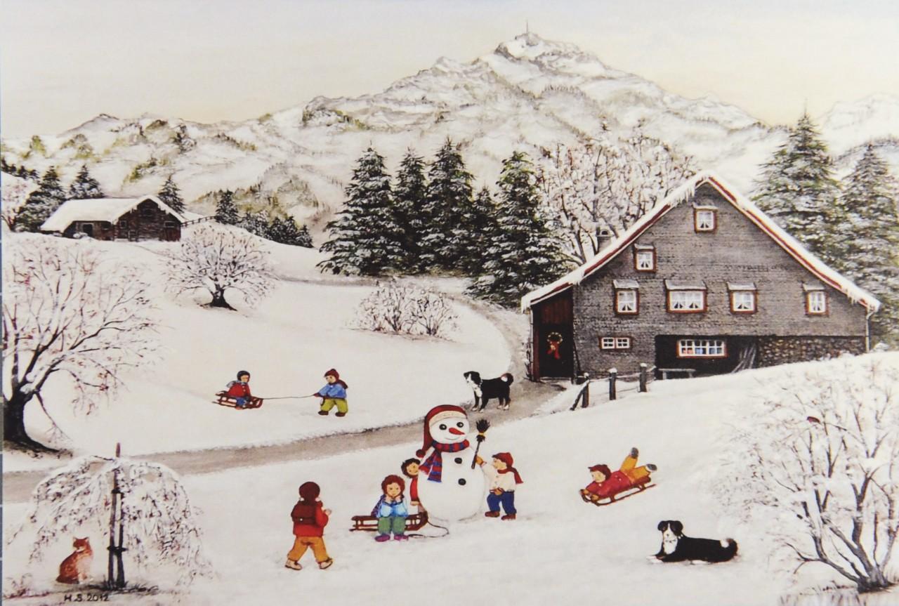 Weihnachtskarte - FW 15952