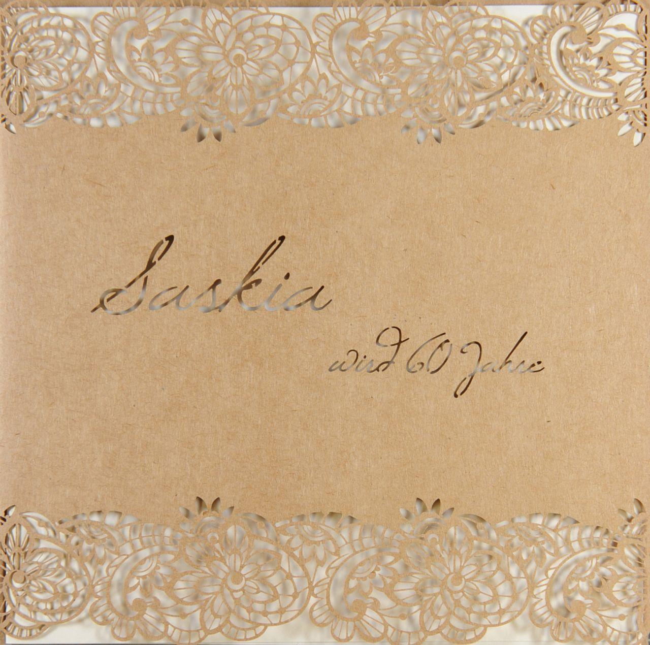 Einladungskarte - A 2128