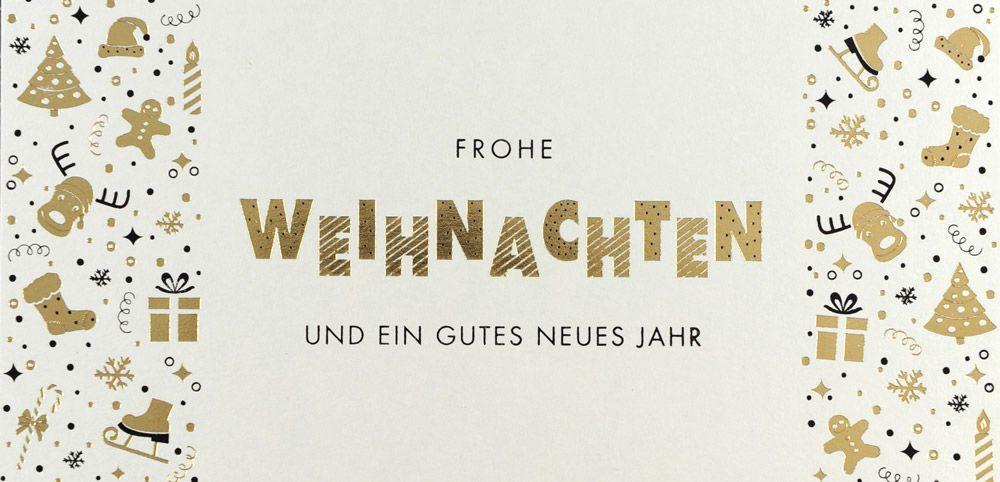 Weihnachtskarte - FW 18066