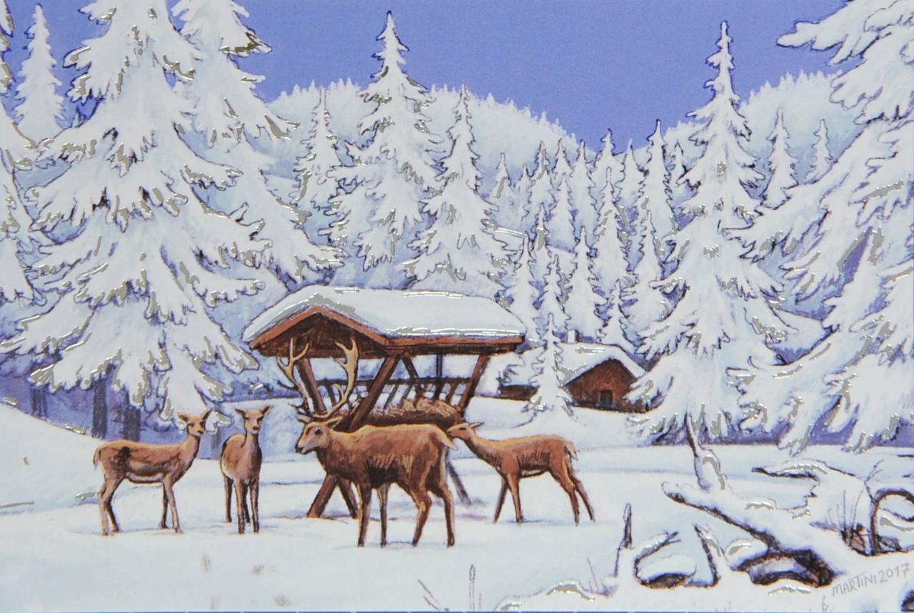Weihnachtskarte - FW 17950
