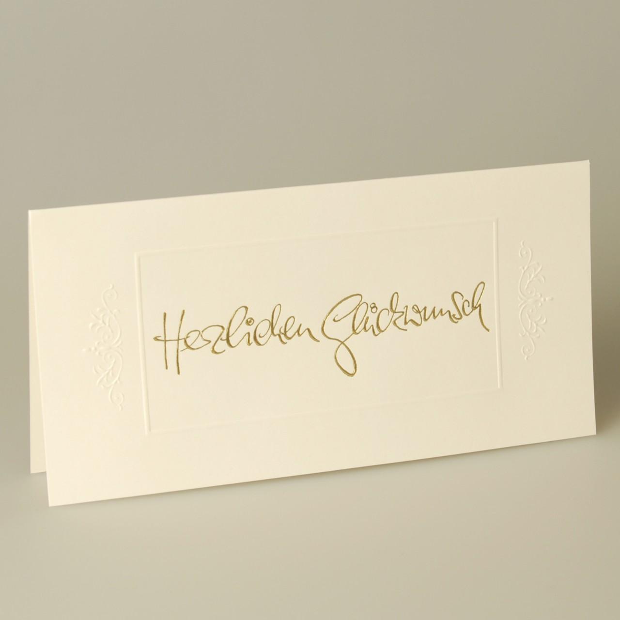 Glückwunschkarte - A 3808