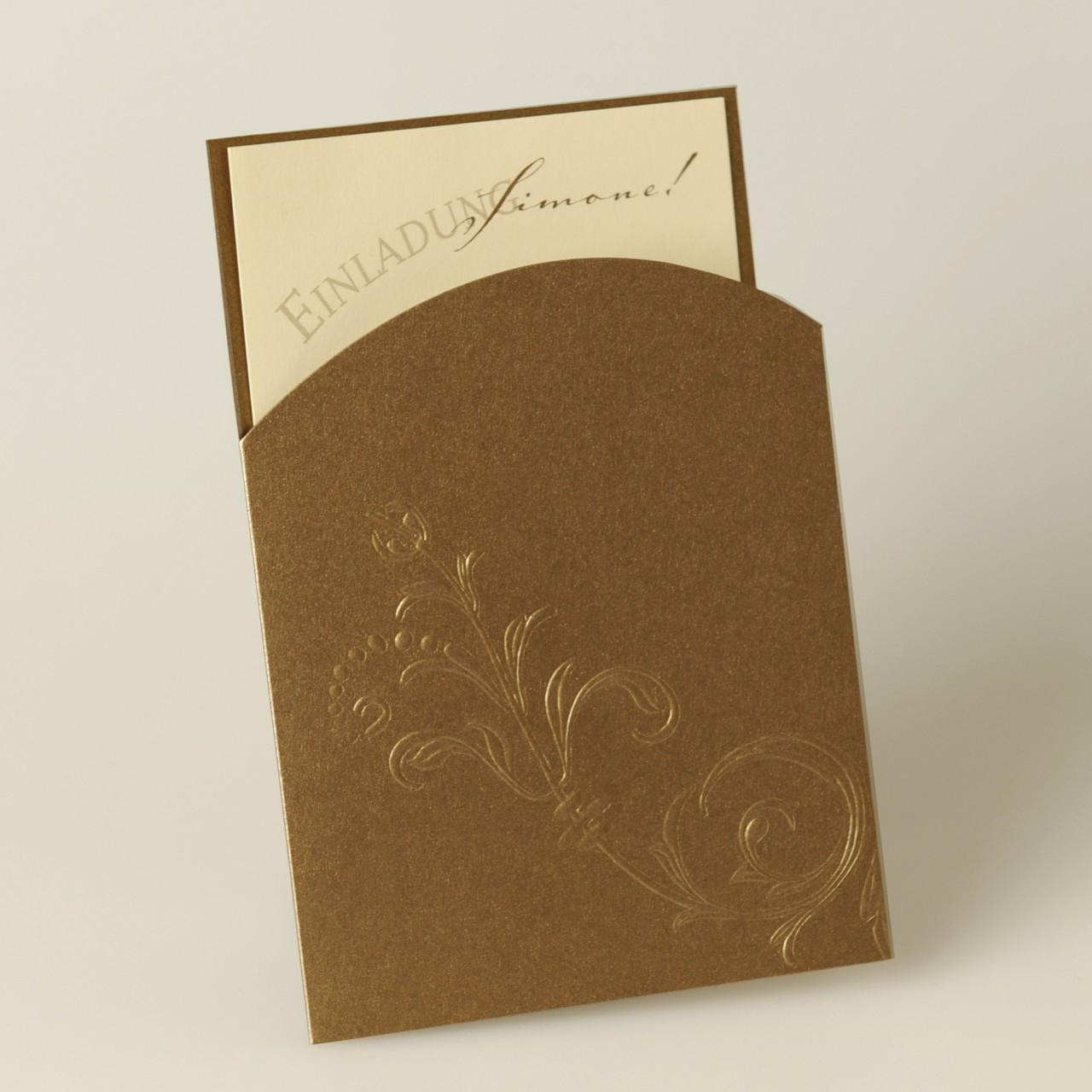 Einladungskarte - A 1998