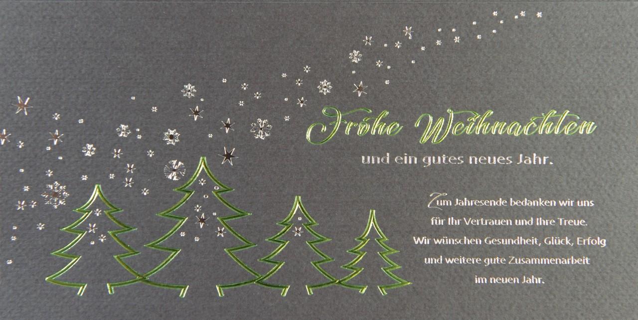 Weihnachtskarte - FW 17956