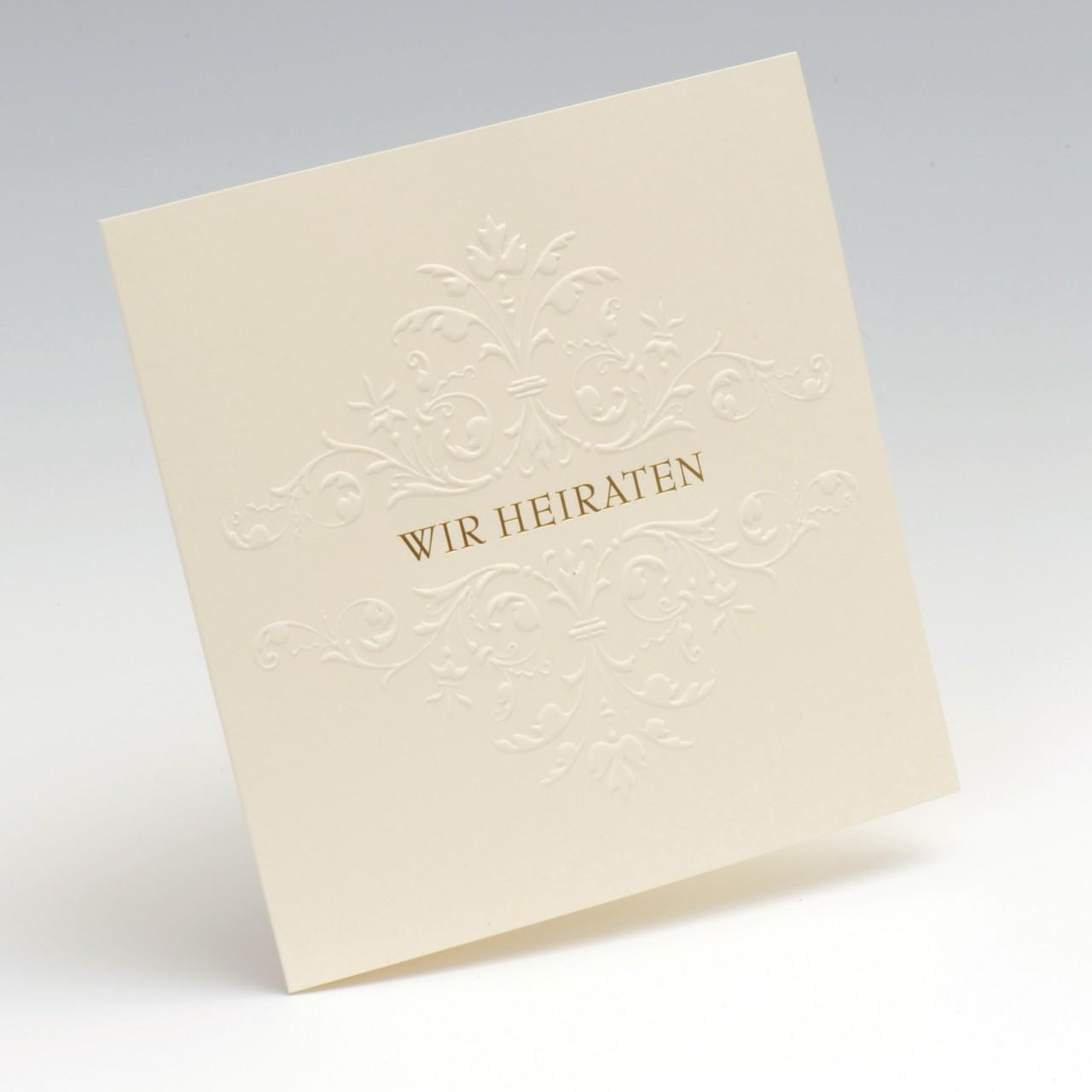 Einladungskarte - H 1987/WH