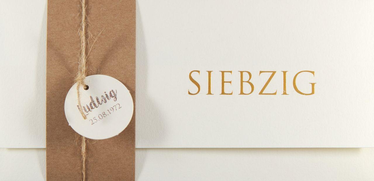 Einladungskarte - A 2145
