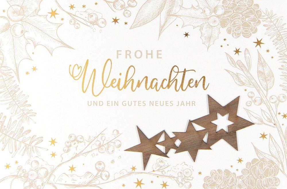 Weihnachtskarte - FW 18074