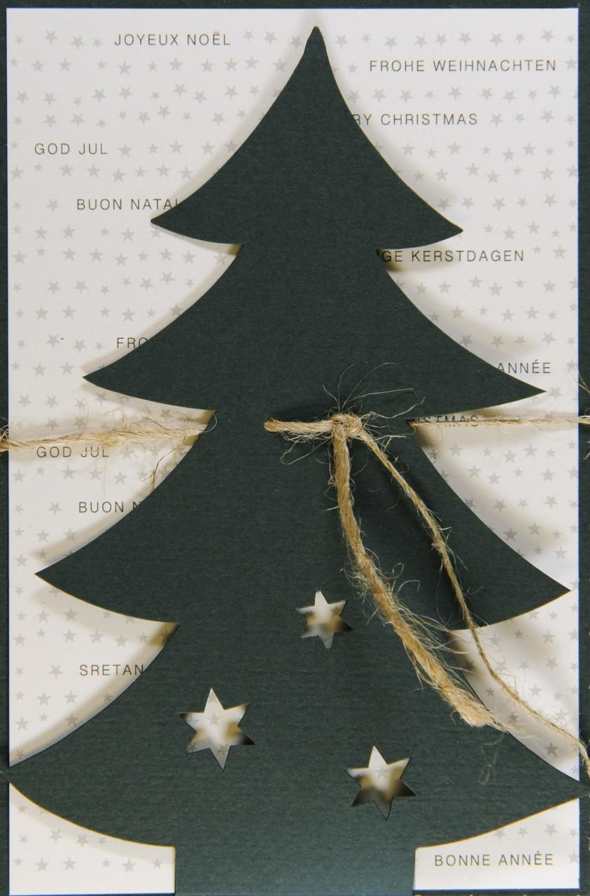 Weihnachtskarte - FW 17962