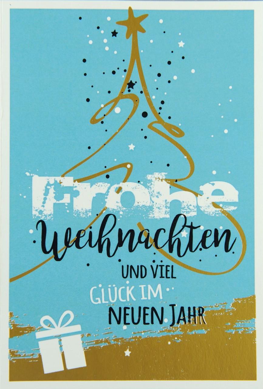 Moderne Weihnachtskarten.Weihnachtskarte Fw 15946