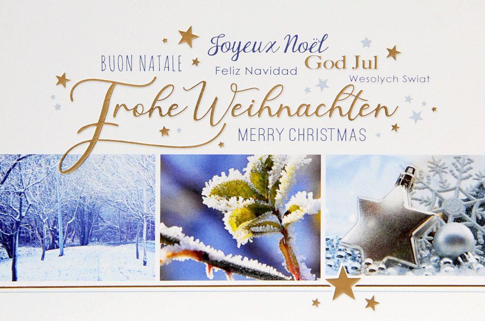 Weihnachtskarte - FW 18078