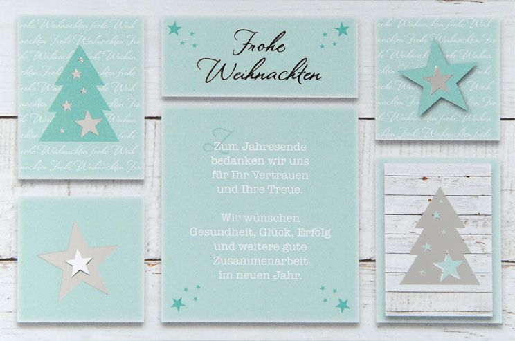 Weihnachtskarte - FW 18023