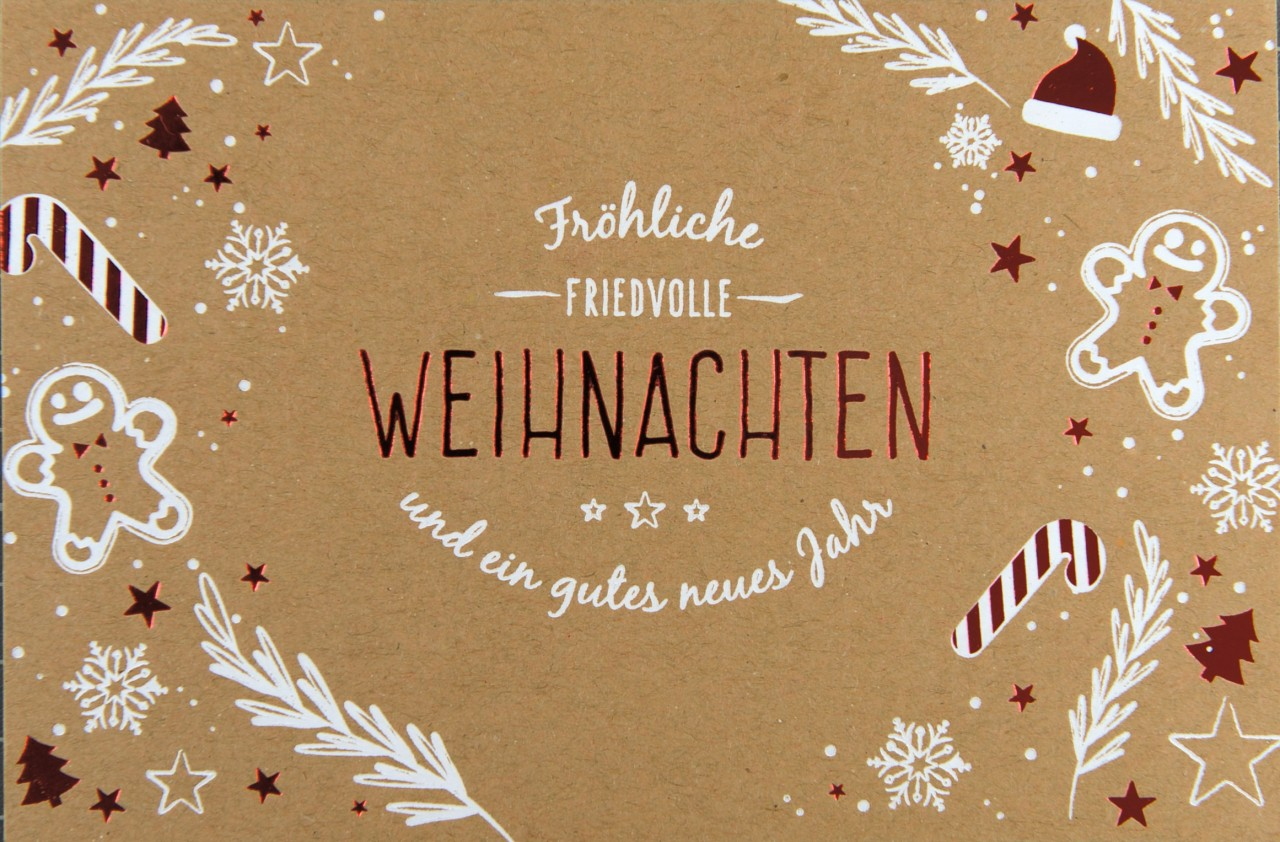 Weihnachtskarte - FW 17953