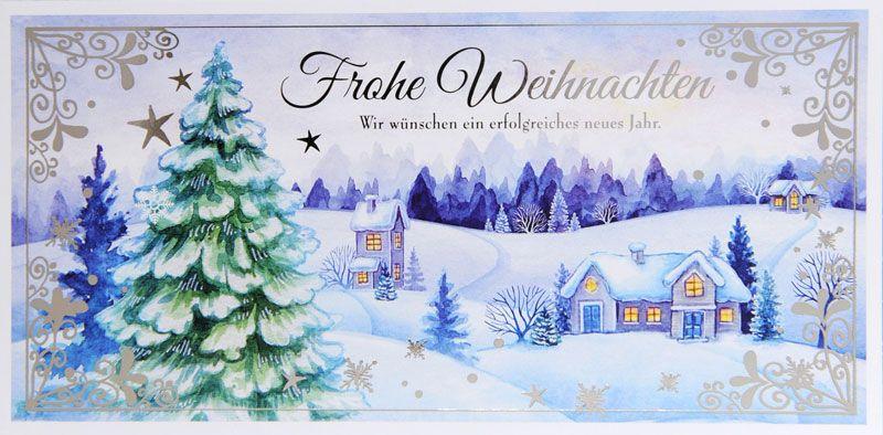 Weihnachtskarte - FW 18025