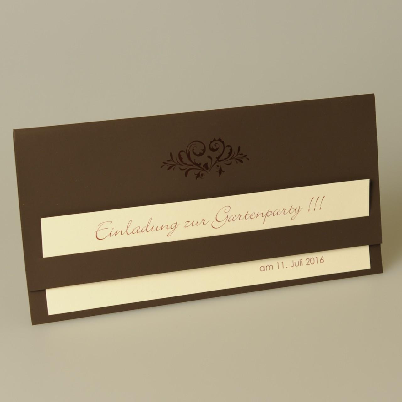 Einladungskarte - A 1986