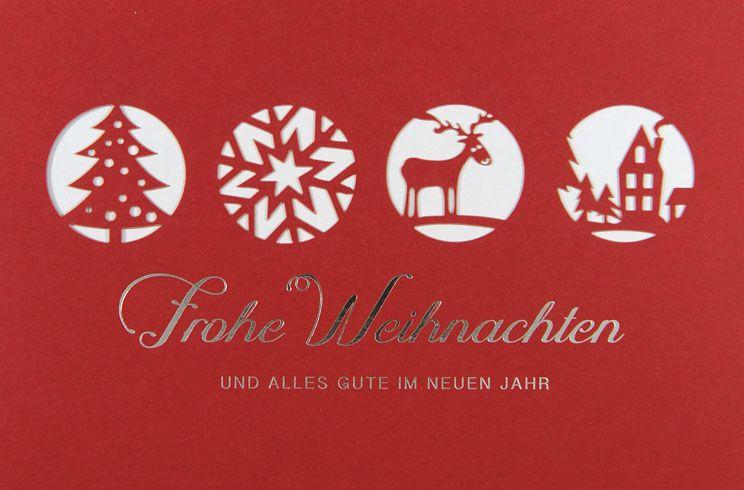 Weihnachtskarte - FW 18009