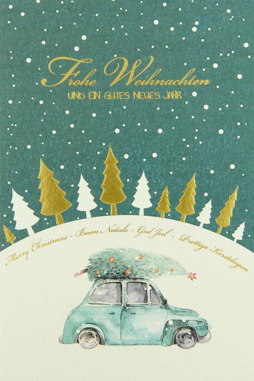 Weihnachtskarte - FW 18158