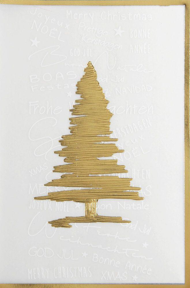 Weihnachtskarte - FW 18109