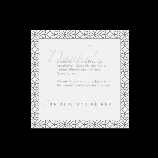 Dankkarte (4 Stück) - EX 726563