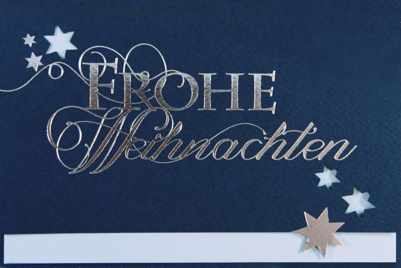 Weihnachtskarte - FW 17964