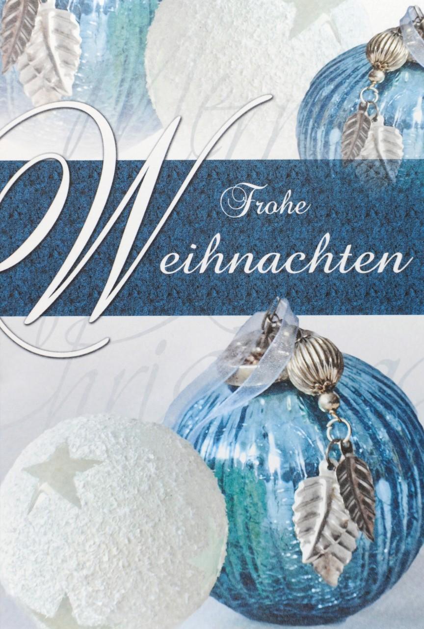 Weihnachtskarte - FW 14731