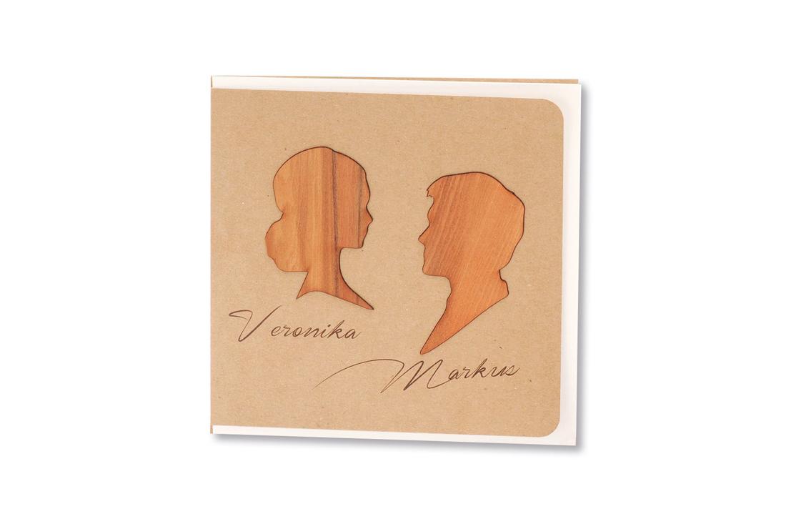 Hochzeitskarten Aus Holz Passen Einfach Perfekt Zu 3 Hochzeits