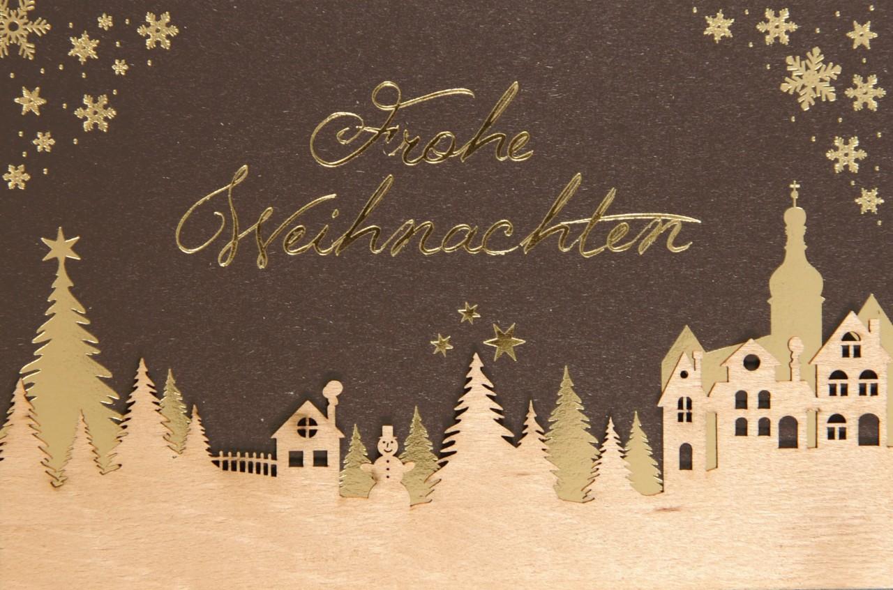 Weihnachtskarte - FW 18000