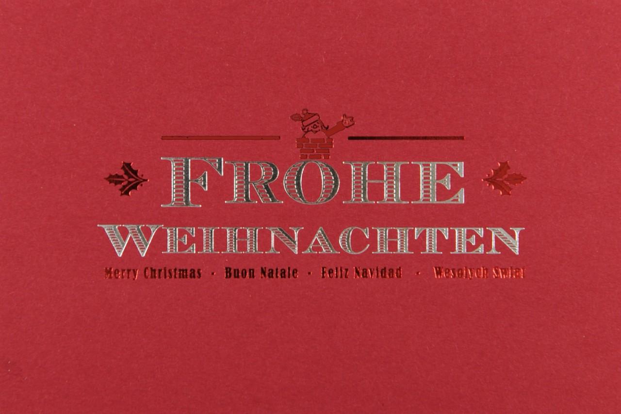 Weihnachtskarte - FW 17918