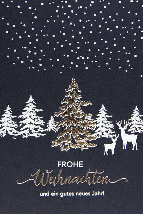 Weihnachtskarte - FW 18007