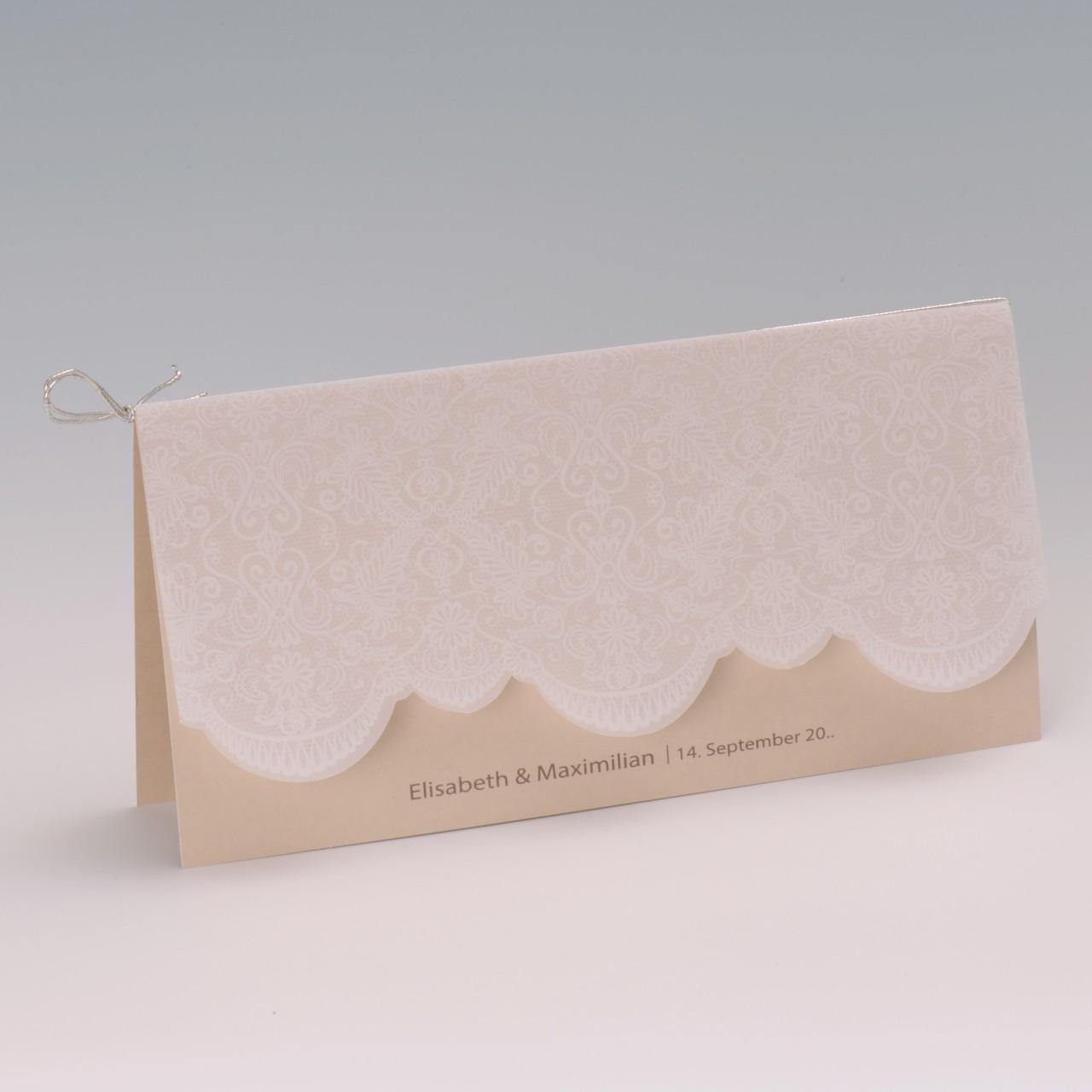 Liebevoll Umhullte Hochzeitskarte Pergament Ansprechend Karteninsel