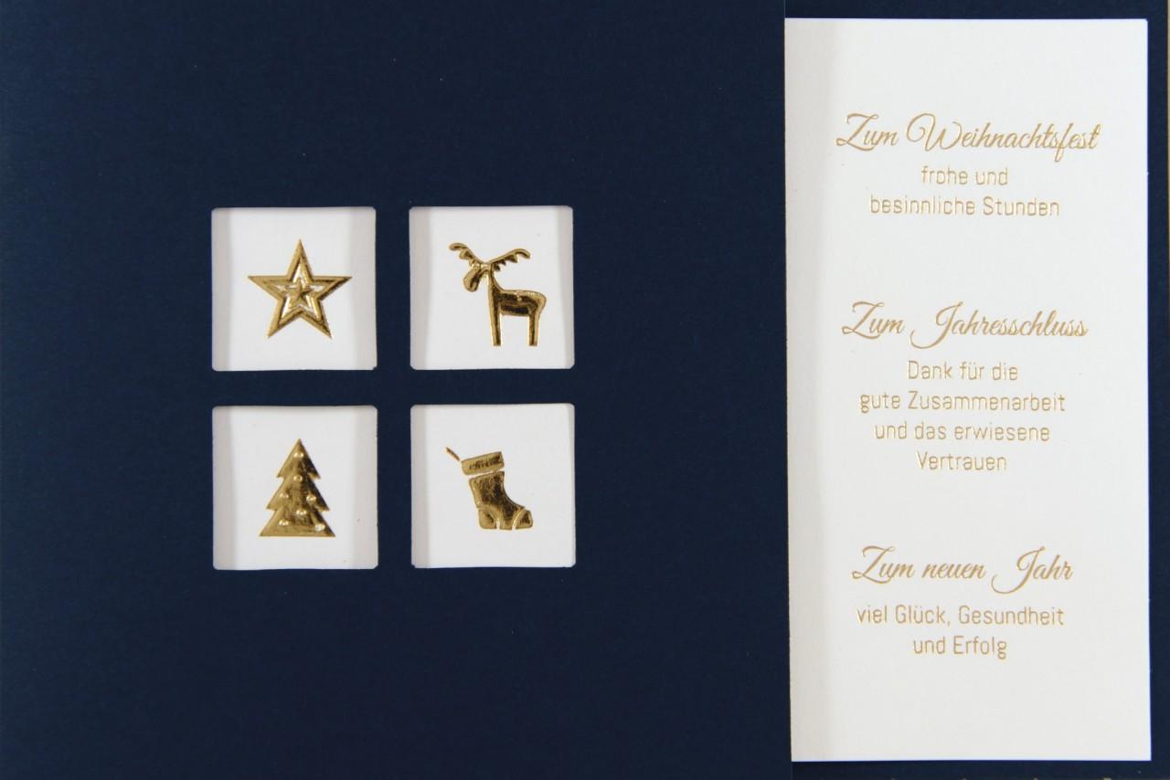 Weihnachtskarte - FW 17981